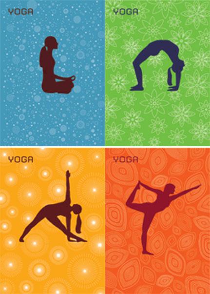 YogaPostkarten
